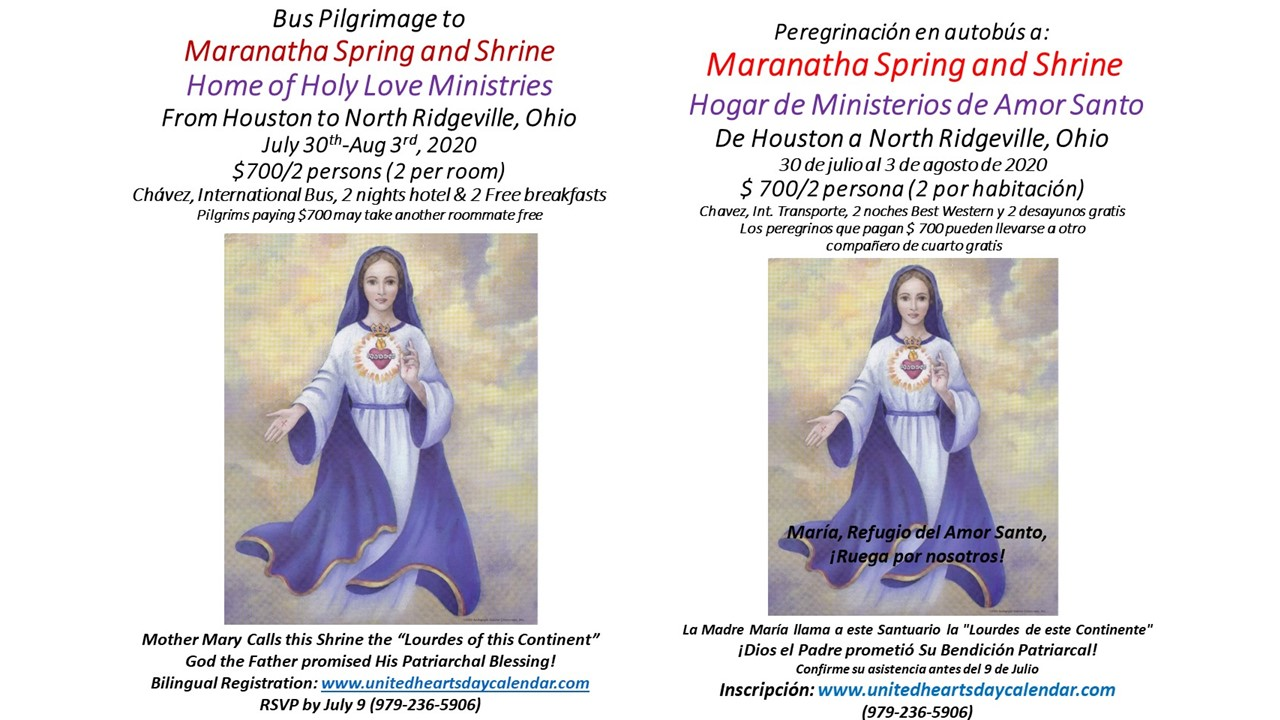 2020 Pilgrimage Double Flyer